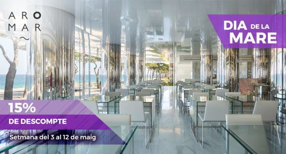 Vine a celebrar el Dia de la Mare a l'Hotel Aromar: Oferta Especial amb un 15% de descompte