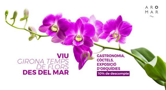 Gaudeix del Festival Girona Temps de Flors des de l'Hotel Aromar de Platja d'Aro